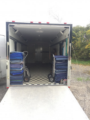 Commercial moving truck in Amherst, NY